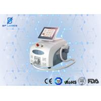 Portable Diode Laser Hair Removal Machine Triple Wavelengths for Salon / Clinic Use