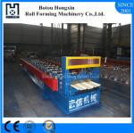 Step Tile Roofing Sheet Roll Forming Machine For Power Plant Canopies