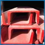 Calha de aço em forma de u de aço pré-fabricada, aço da canaleta em U dos quadros de construção, padrão de JIS, aço do canal, construção do telhado