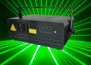 China 900mW 3D Single Green Laser Disco Laser Lights , 532nm Disco Laser on sale
