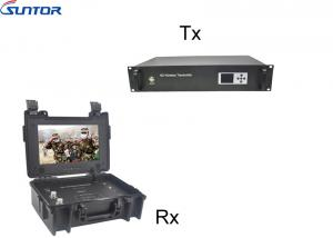 China NLOS Long range COFDM Transmitter Wireless video and 2 way voice communication link supplier