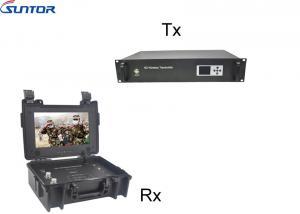 China NLOS Long range COFDM Transmitter Wireless video and 2 way voice communication link on sale