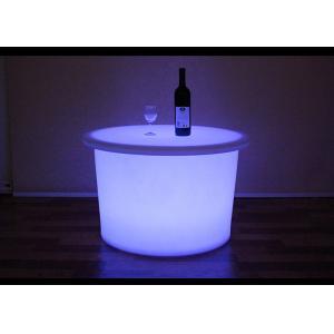 China Colourful Light LED Table Furniture Illuminated Product Big Size Table on sale