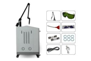China 2019 most popular Q switch nd yag laser beauty system skin whitening/ tattoo removal device with discounting on sale