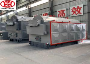 China 3 Ton Small Wood Fired Biomass Steam Boiler For Textile Industry 4.1x 2.2x 2.9 on sale