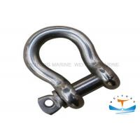Stainless Steel 304 Large Bow Shackle6mm-50mm Size With U - Shaped Body