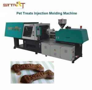 China Oil Proof Pet Food Production Line With Colorful Touch Switch Control Panel on sale