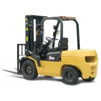 Counterbalance Diesel Forklift Truck ,3 Ton Low Vibration Pallet Forklift