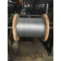 Durable Stranded Steel Cable With Class A Heavy Zinc Coating And Grade 1 Tensile Strength