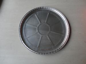 China Pizza Round Aluminum Foil Baking Pans With SGS For Outdoor Cookware on sale