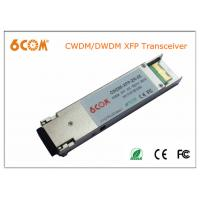 DWDM LC 10G XFP transceiver , fiber optic module for 120km Fiber Channel
