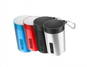 China Blue Red Black Portable Mini bluetooth speaker rechargeable battery , small speakers for mobile on sale