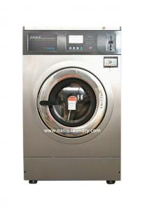 China OASIS 14kgs Hard Mount coin operated washing machine/coin operated washer/card operated washer/card op washing machine on sale