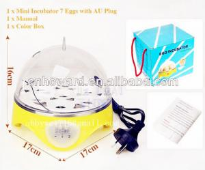 China Toy Gift! Cute Appearance HHD Full Automatic Chicken Egg Incubator for Sale YZ9-7 on sale