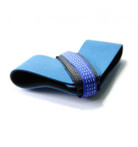 China Blue Esd Products  Two Layer Rubber Heel Grounder / Strap For Production Line on sale