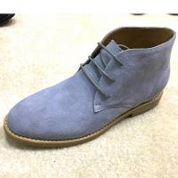 Fashion Men Leather Boot for Men , TPR Ankle Boot Any Logo / Any Design