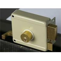 Yale brass rim lock 6 pins cylinder door lock rim latch(111A)