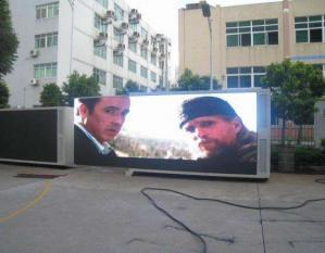 China P8 RGB SMD LED Screen Waterproof / Outdoor LED Display Screen High Brightness on sale
