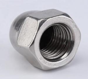 China Hexagon Socket Head Cap Screw Carbon Steel Flat Cap Nut Zinc Plate Surface on sale