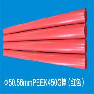 China PEEK red rod on sale