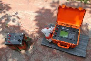 China Geological Mineral Exploration Resistivity Meter on sale