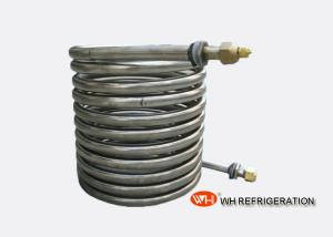 China Fresh Water Cooling Stainless Steel Condenser Coil For Water Chiller on sale