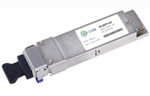 Quality High Speed Fiber QSFP + Optical Transceiver Module QSFPP-40GBASE-LR4 for sale