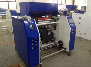 China LDPE PVC PE Stretch Film Rewinding Machine With Automatic System PLC Controller on sale