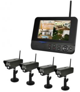 China Real Time Indoor Digital Security Camera Systems Wireless CCTV Camera System on sale
