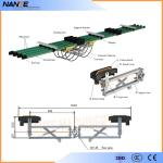 Steel Surface NCL-400 / NCL*2-400 Carbn Brush  for NSP-H32 Conductor Rail System