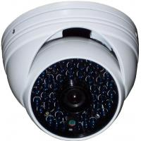 PAL / NTSC 600Tvl Wireless Home Security Cameras Dome , Infrared