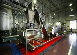 China 3T / H Juice Fruit Processing Machinery For Aseptic Bag Package on sale