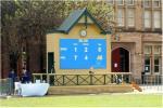 La publicité polychrome extérieure du lancement 12mm LED montre le panneau de signage