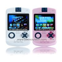 4GB QVGA Panel All-In-One Media Player (DV/MP3/MP4/Game/Camera/FM Function) 2 Colors Available