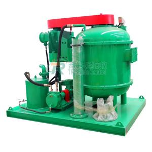 China -0.03~-0.045Mpa Vacuum Degree Mud Vacuum Unit with 270 Cubic Meters Per Hour Flow Rate on sale