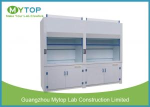 China 4ft Lab Polypropylene Fume Hood For Strong Acid And Alkali Testing Exhausting System supplier