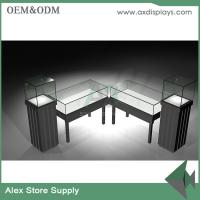 China Jewelry shop showcase wooden furniture showcase China supplier glass display furniture on sale