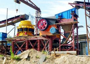 China High Efficiency Stone Cone Crusher Easy Adjustment Rock Crushing Machine on sale