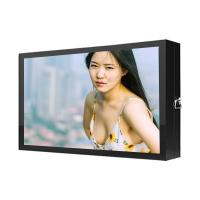 China 49 Inch Outdoor Digital Signage Displays / Nano Touch Outside Digital Signs on sale