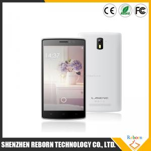 China Smart Phone 5 Inch  LANDVO L200  MTK6582W Quad Core Cell Phone Ultra Slim Android Smart Phone on sale