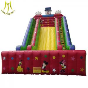 China Hansel amusement park play ground outdoor inflatable water slide for water park on sale