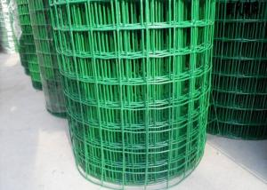 China Low Carbon Powder Coated Steel Wire Fencing 2-6.0mm Dia With Euro Style on sale