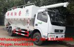 2019s new best price dongfeng 4*2 LHD Euro 5 156hp diesel 12m3 5-7tons bulk feed truck for sale, feed pellet truck
