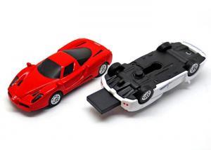China Mini Partable Red White Ferrari Car U disk Full 16GB Capacity USB Flash Drives on sale