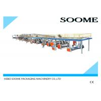 Professional Precision Corrugated Box Production Line 3 Layers 1800 Mm