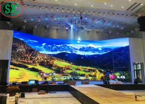 China SMD2121 P4.81 RGB LED Display , Indoor Full Color LED Display 1500cd/sqm 3 Years Warranty on sale