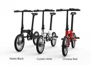 China Front Hub Brushless Folding Electric Bike / Bicycle 16 Inch 36V 5.2Ah on sale