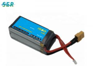 China 1500mah 14.8v 70c RC Car Battery Pack, RC Airplane Batteries800 Cycle Life on sale