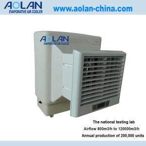China Airflow 6000m3/h pressure 150pa and power 150w window air cooler  AZL06-ZC13A on sale