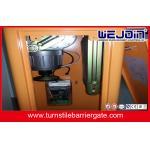 Puerta de alta velocidad de la entrada de la seguridad del vehículo de los sistemas de la puerta de la barrera del auge para el hospital, construyendo